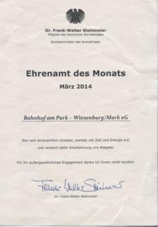 Ehrenamt März 2014